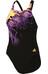 adidas Infinitex + Xtr Swimsuit Women black/solar gold/shock purple f16